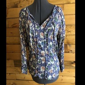 🌸2 for $15🌸Lucky Brand Floral Top